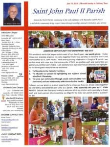 St. Francis Center newsletter